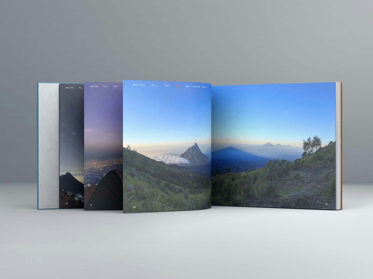 LI photobook Merbabu update