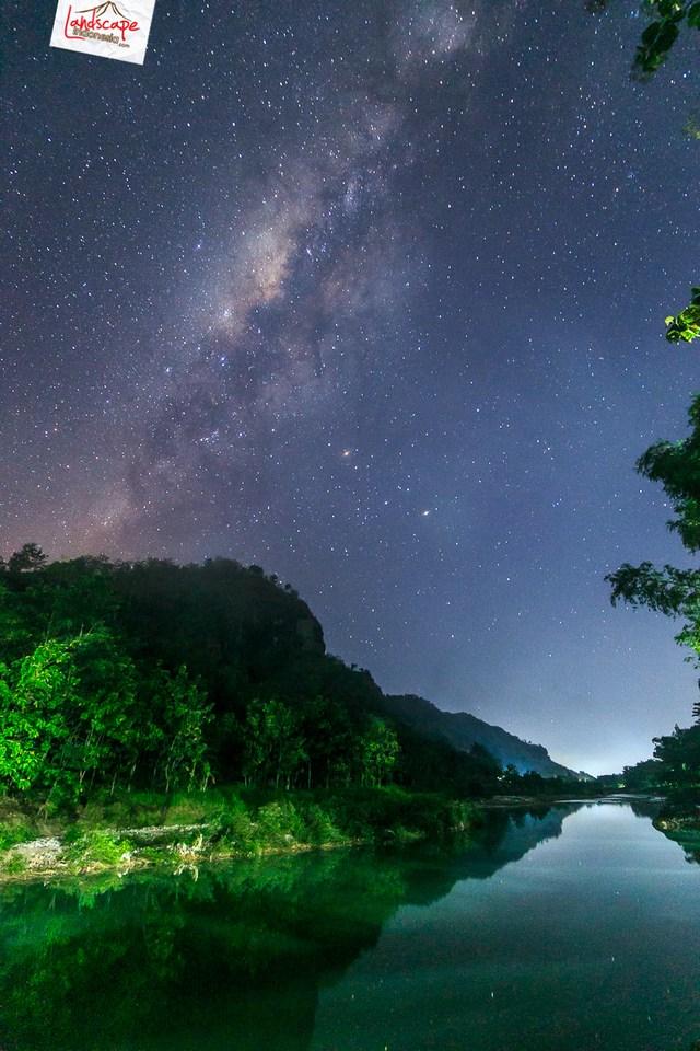 begadang malam milkyway imogiri - Malam berteman bintang di Imogiri