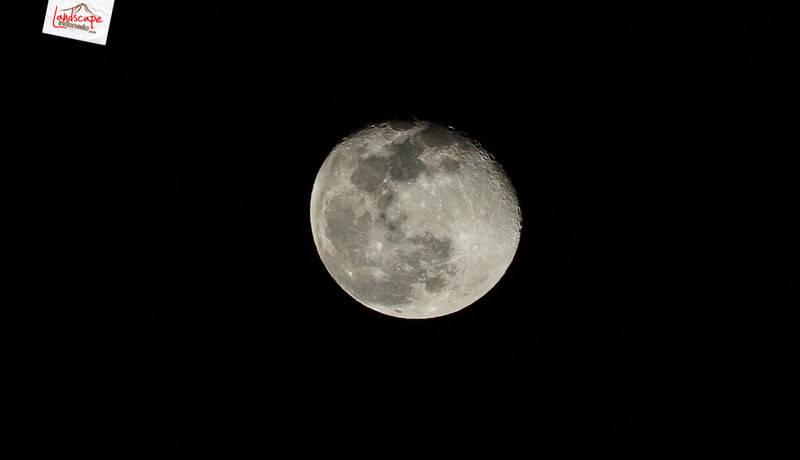 bulan purnama - Memotret Milky Way di depan rumah