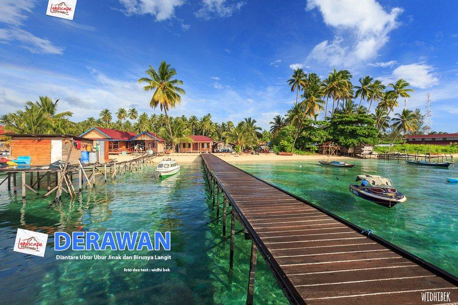 landscape indonesia - derawan