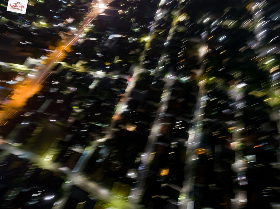 drone malam 2 - Test Aerial Fotografi di Malam Hari