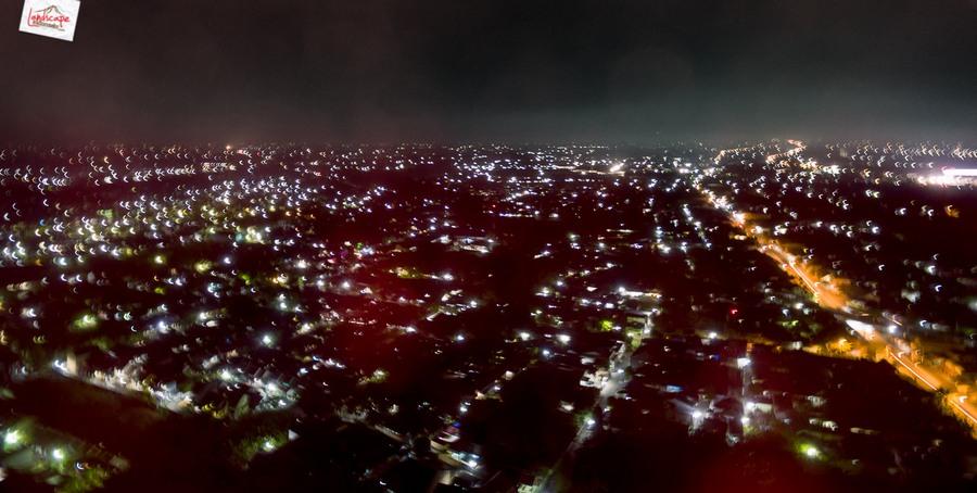 drone malam 3 - Test Aerial Fotografi di Malam Hari