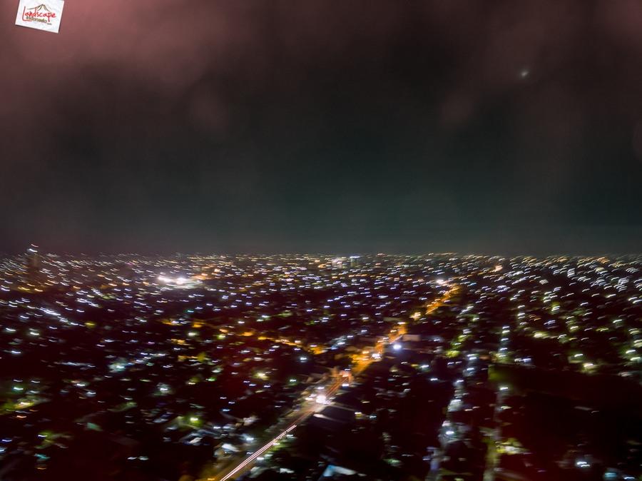 drone malam 4 - Test Aerial Fotografi di Malam Hari