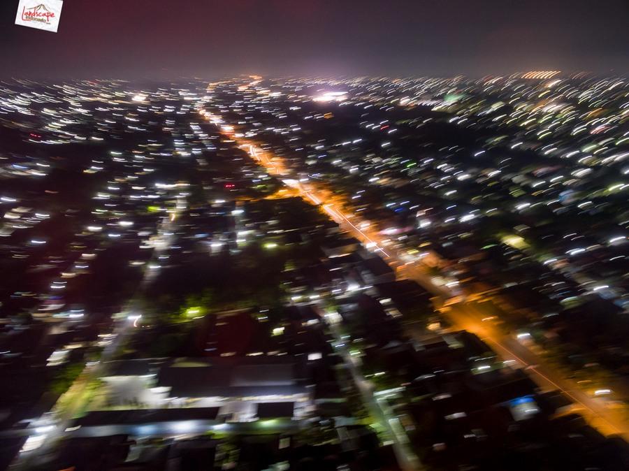 drone malam 5 - Test Aerial Fotografi di Malam Hari