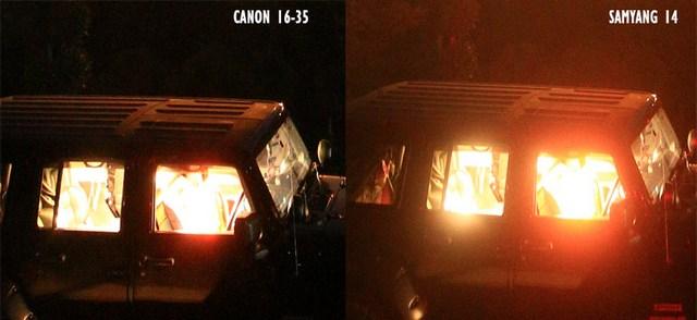 foto milkyway canon16 35vs samyang14 3 - Lensa samyang 14 mm vs canon 16-35 untuk memotret milky way
