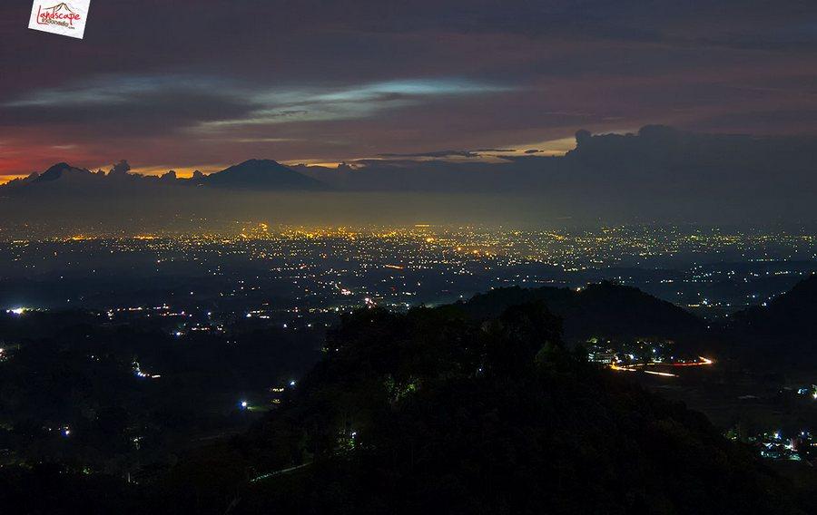 gamping sore 7 - Berkas Senja di Gunung Gamping