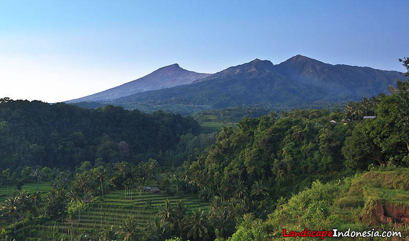 gunung desa senaru rinjani lombok - Indonesia - Ring of Fire