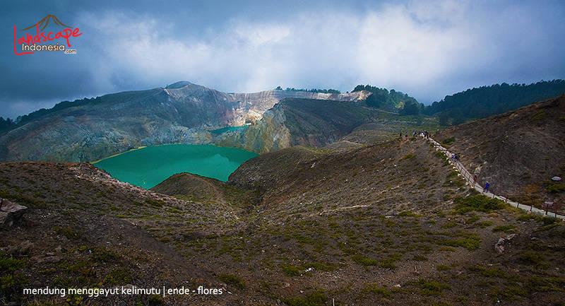 gunung kelimutu flores - Indonesia - Ring of Fire