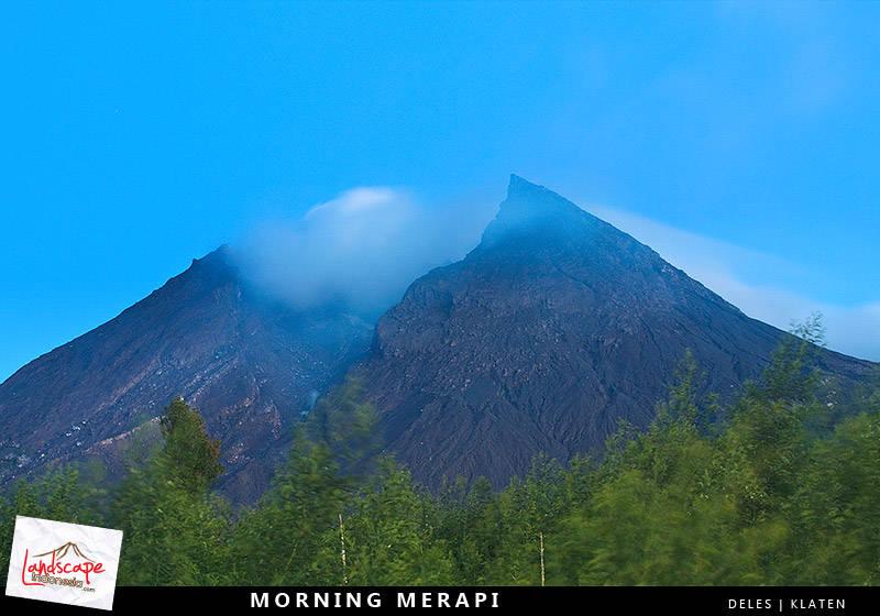 gunung merapi deles - Indonesia - Ring of Fire