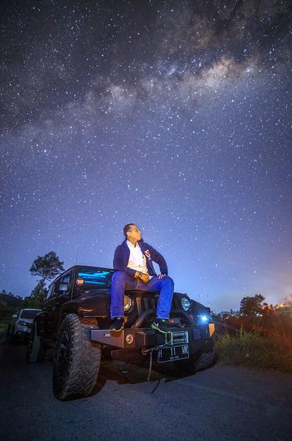 hunting milkyway 4 - Hunting Milky way di kaki Merapi