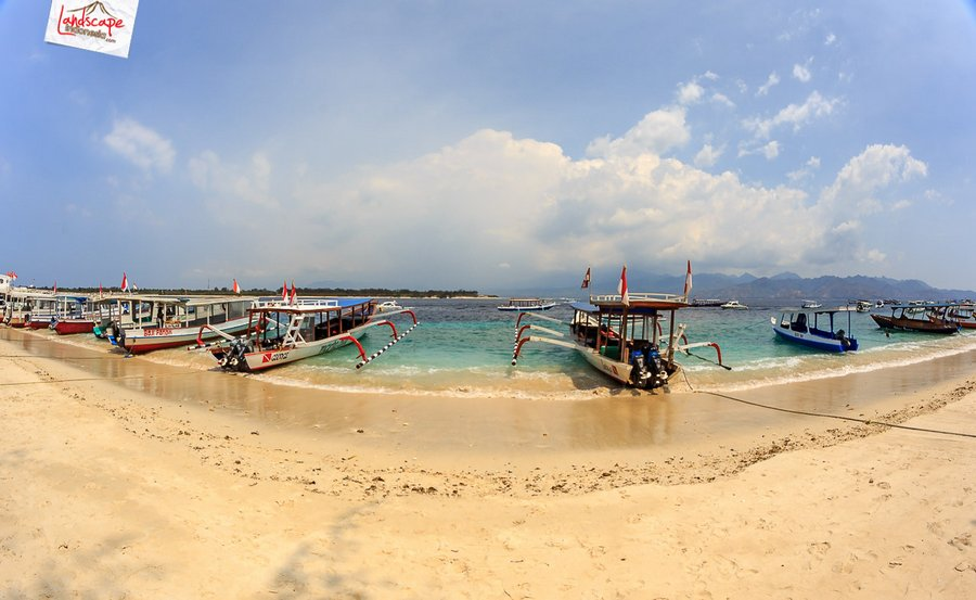 lombok pesonaIndonesia 5 - Sesaat Lupakan waktu di Gili Trawangan