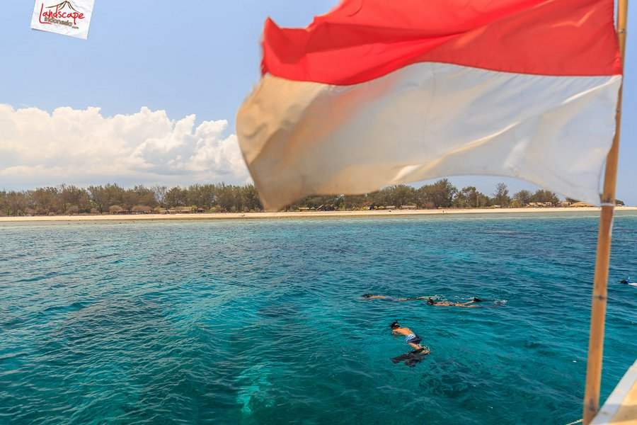 lombok pesonaIndonesia 7 - Sesaat Lupakan waktu di Gili Trawangan