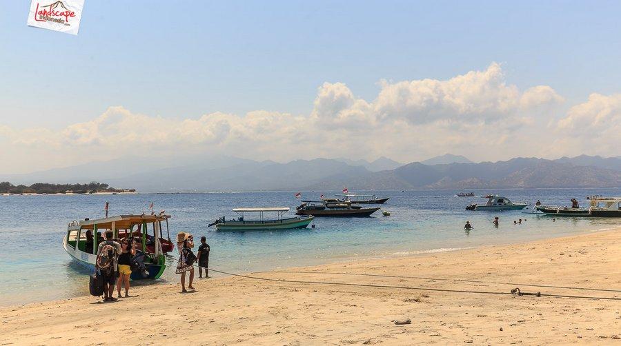 lombok pesonaIndonesia 9 - Sesaat Lupakan waktu di Gili Trawangan