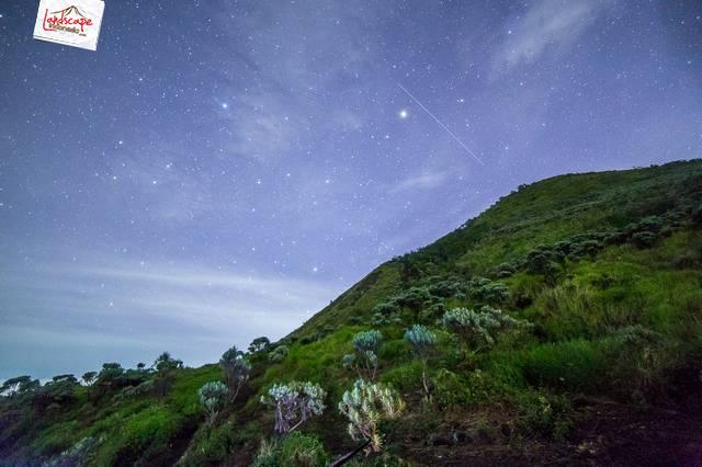 merbabu 06 - Indahnya Merbabu di waktu malam