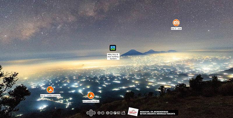 merbabu pano 2 - Merbabu dalam format Panorama