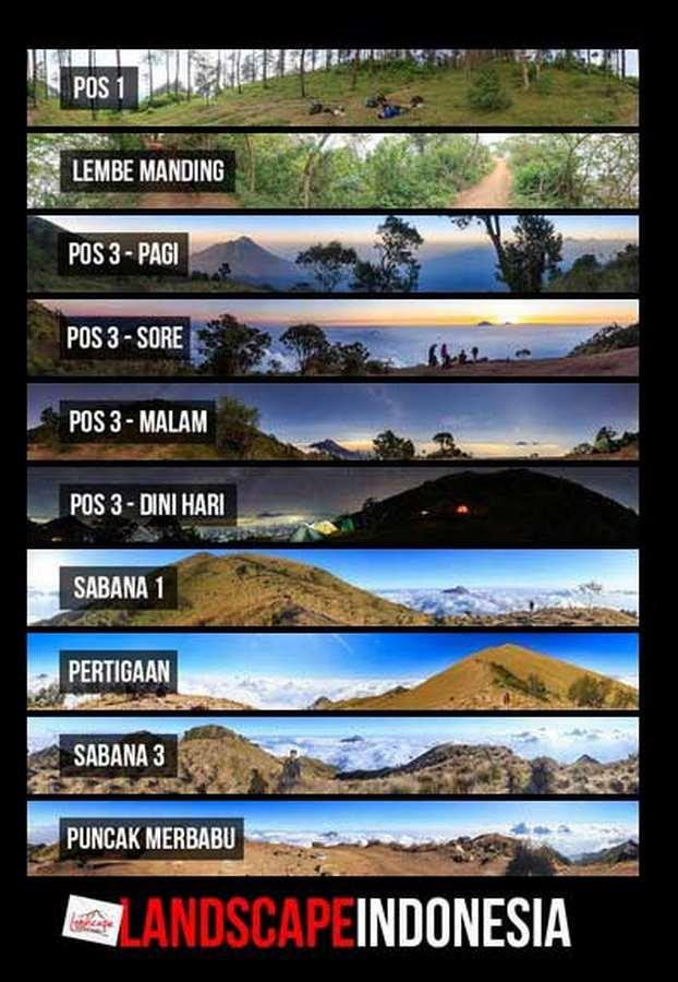 merbabu virtual tour 2 - Merbabu jalur Suwanting - Virtual Tour [Android]