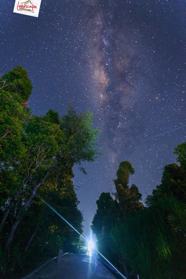 milkyway cepogo 2 - Milky Way di antara Candi Lawang