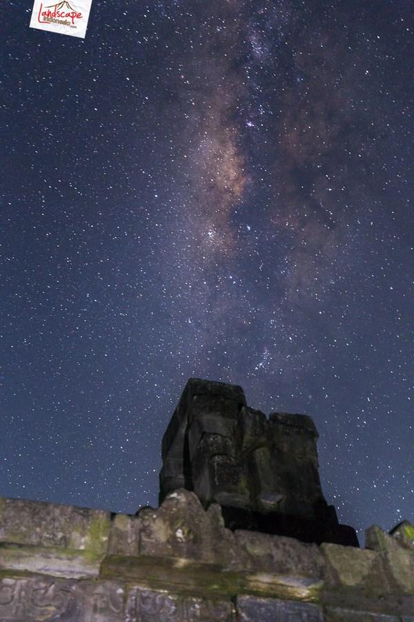 milkyway cepogo 4 - Milky Way di antara Candi Lawang
