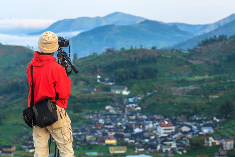 pagi cebongan dieng 450d - Dua kamera untuk mengabadikan perjalanan