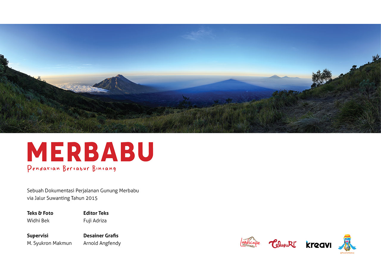 photobook merbabu 01 - Buku Merbabu : Pendakian bertabur bintang