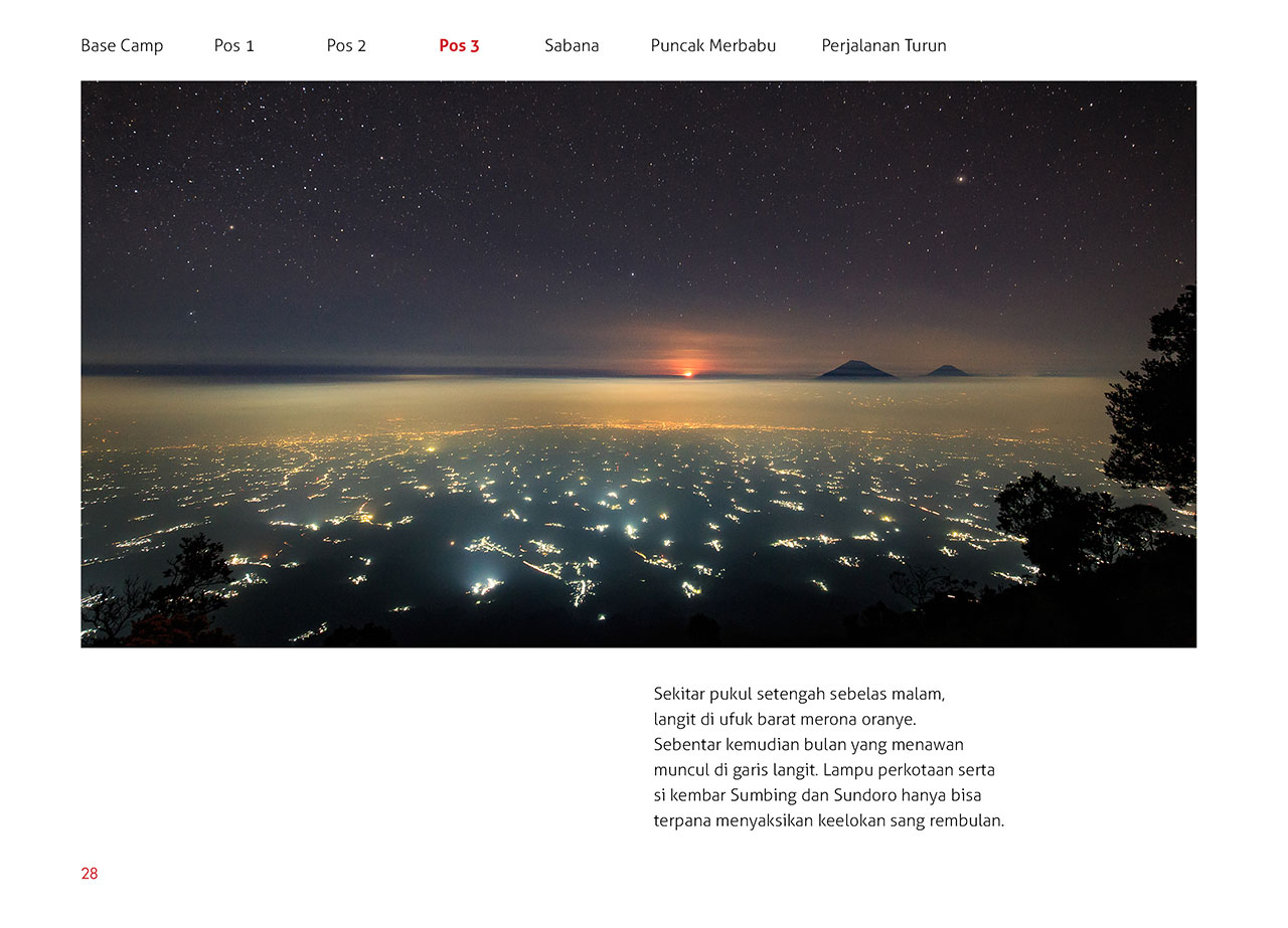 photobook merbabu 02 - Buku Merbabu : Pendakian bertabur bintang