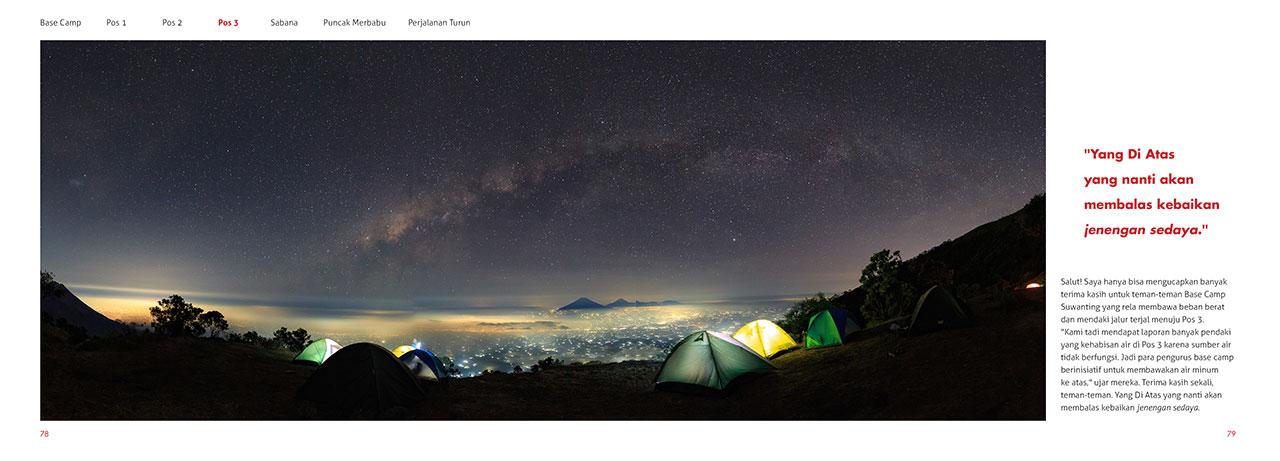 photobook merbabu 04 - Buku Merbabu : Pendakian bertabur bintang