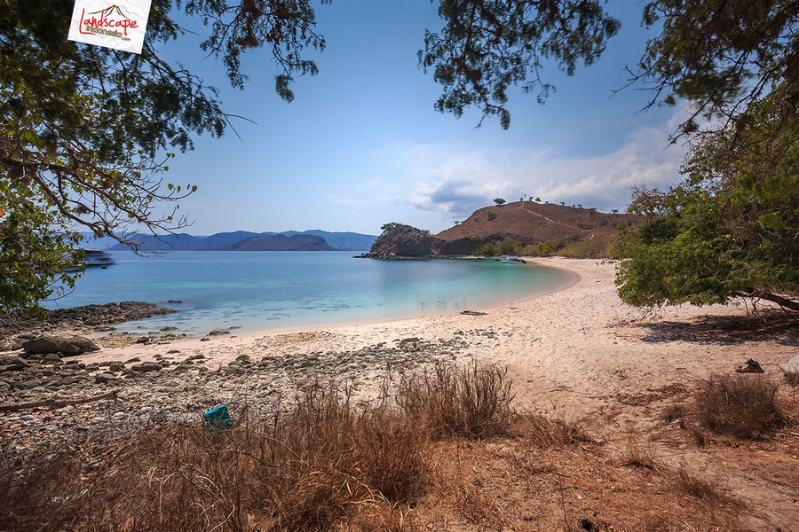 pinkbeach pesonaindonesia 9 tn - Melepuh kaki di Pink Beach