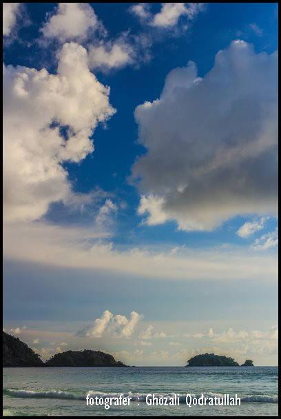 pulau beras 11. ghozaliq langit di pantai balu - Pulau Beras, Pulau terbarat di Indonesia [seri pulau Aceh #2]