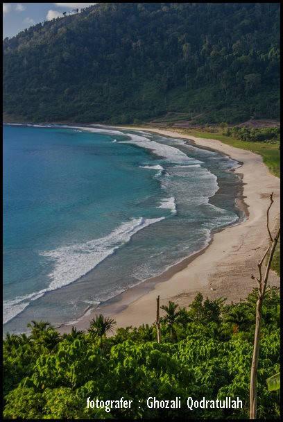pulau beras 12. ghozaliq pantai balu dari timur - Pulau Beras, Pulau terbarat di Indonesia [seri pulau Aceh #2]