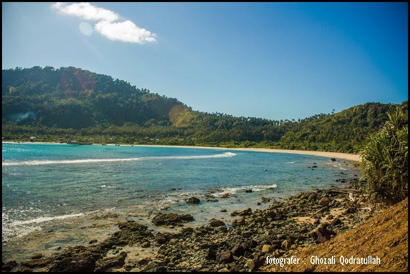 pulau beras 7. ghozaliq pantai di desa meulingge dari pantai rinon - Pulau Beras, Pulau terbarat di Indonesia [seri pulau Aceh #2]