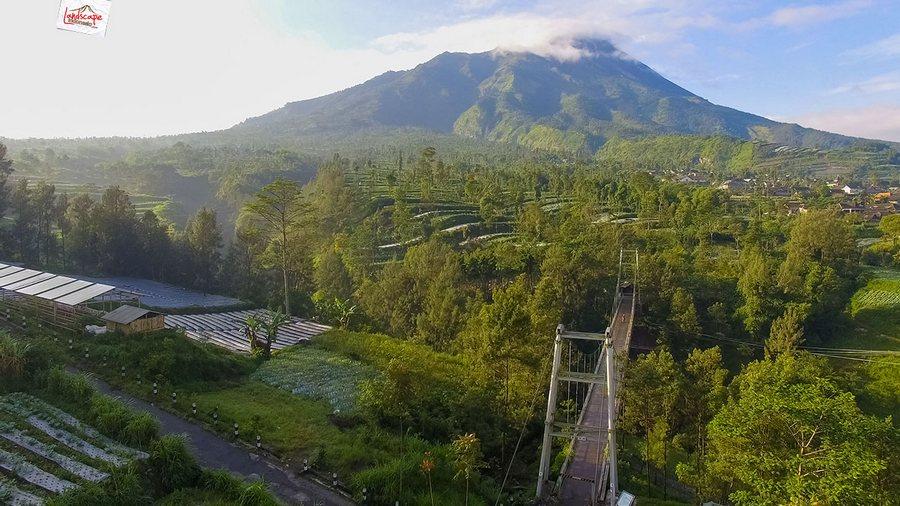 selo drone 11 - Selamat Pagi Merapi Merbabu