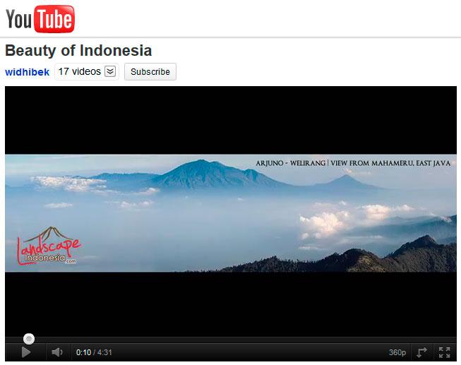 beauty of Indonesia - youtube