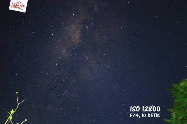 test iso 12800 - Test high iso canon 6D untuk memotret milky way