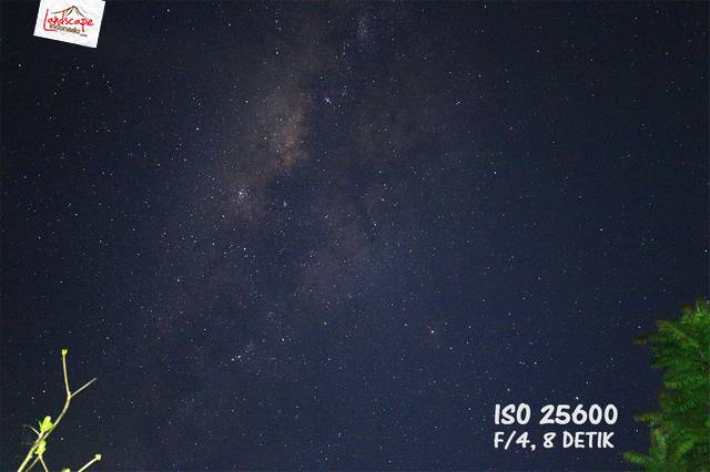 test iso 25600 - Test high iso canon 6D untuk memotret milky way