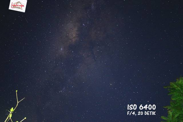 test iso 6400 - Test high iso canon 6D untuk memotret milky way