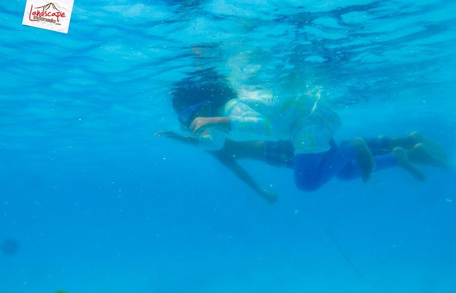 underwater test 6 - Test #1 kamera G15 + underwater case WP-DC 46