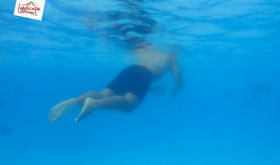 underwater test 7 - Test #1 kamera G15 + underwater case WP-DC 46