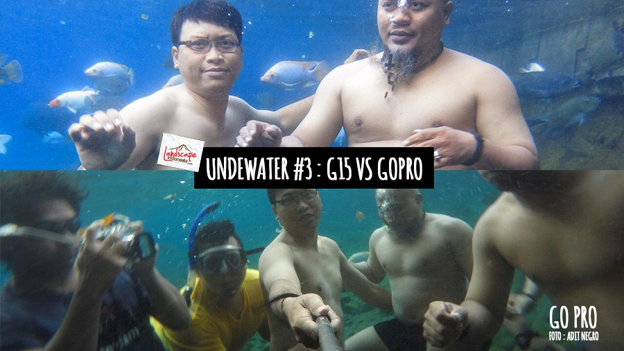 test underwater - gopro vs g15