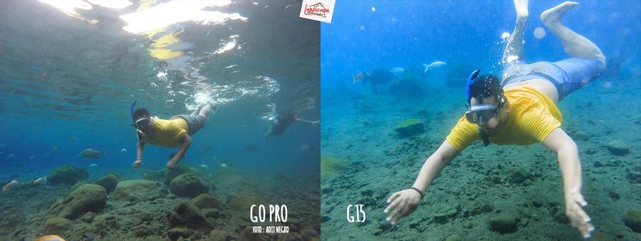 underwater3 2 - Test #3 Underwater Foto : Go Pro dan G15