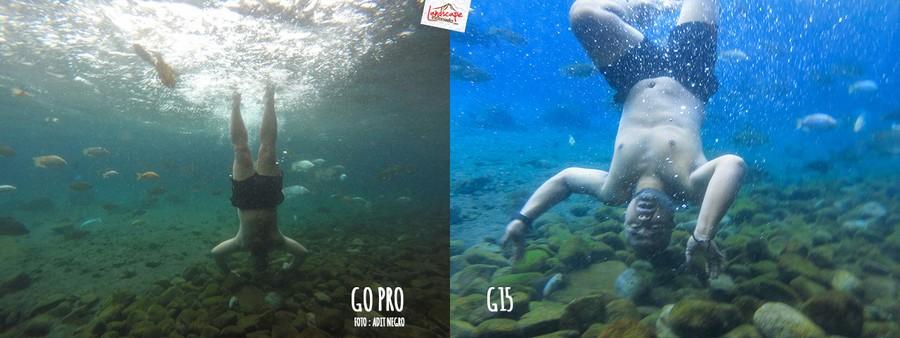 underwater3 4 - Test #3 Underwater Foto : Go Pro dan G15
