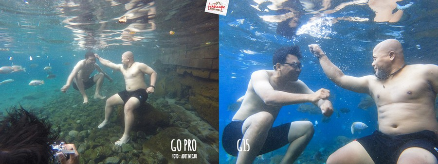 underwater3 5 - Test #3 Underwater Foto : Go Pro dan G15