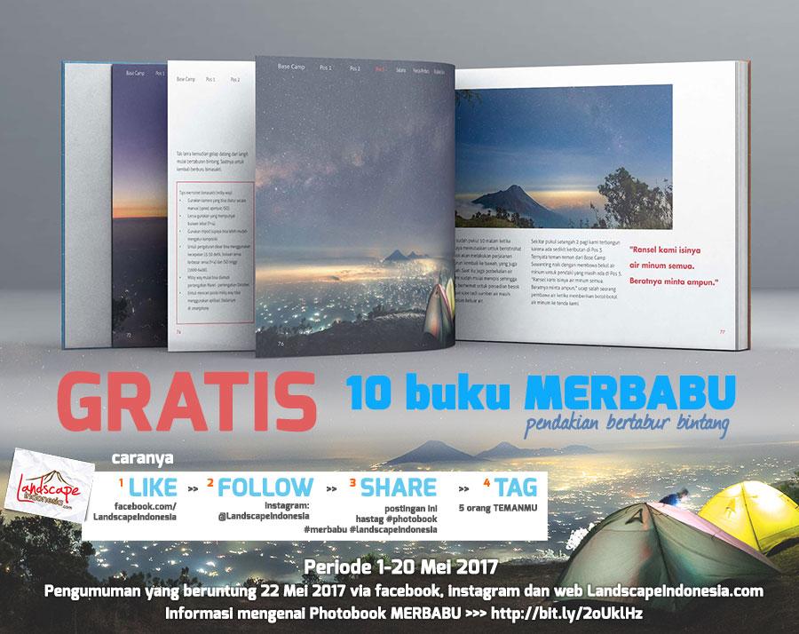 10 buku gratis versi 2a - Giveaway 10 buku MERBABU