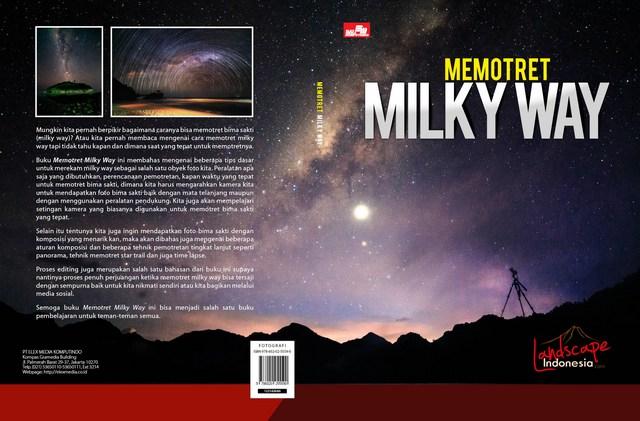 buku memotret milky way