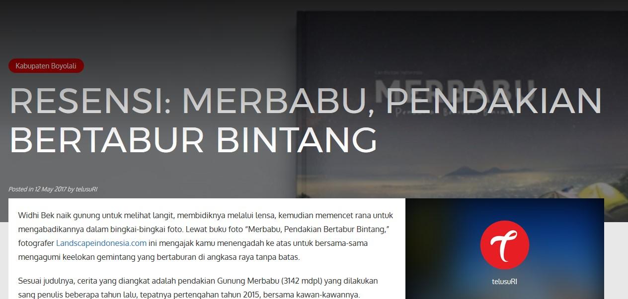 Screenshot 549 - Buku Merbabu Pendakian Bertabur Bintang - Review