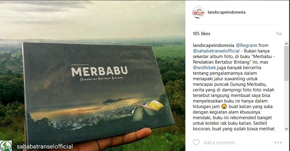 Screenshot 556 - Buku Merbabu Pendakian Bertabur Bintang - Review