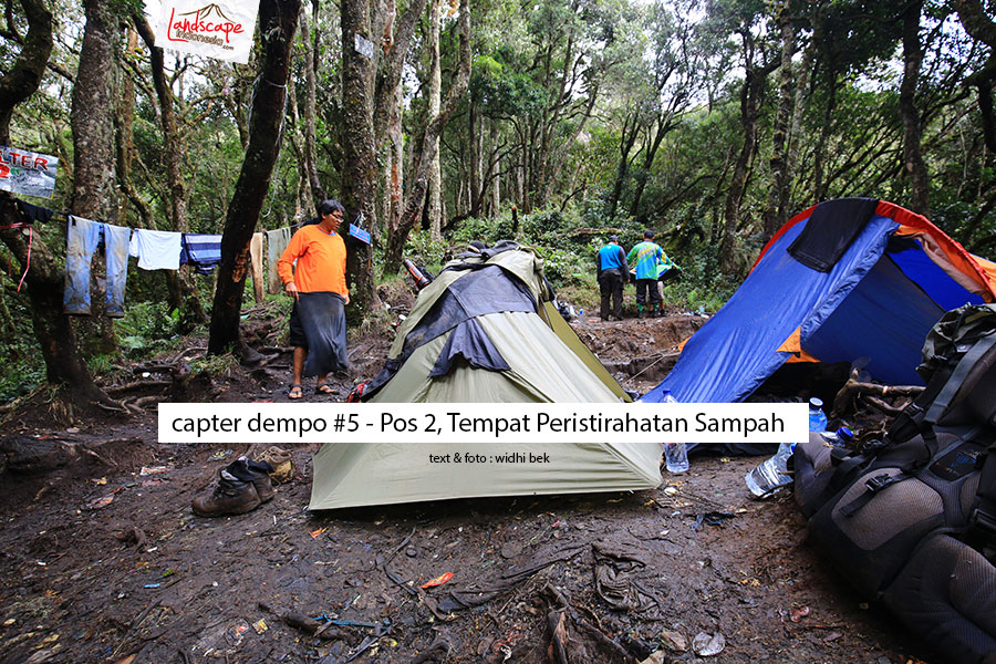 dempo 5 1 - [Catper Dempo #5] Pos 2, Tempat Peristirahatan Penuh Sampah