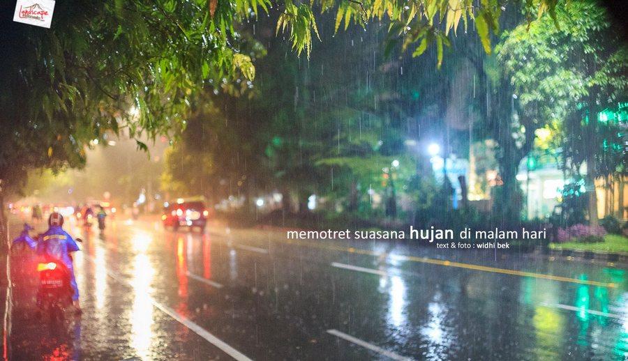 memotret hujan 5 - Memotret Suasana Hujan di Malam Hari