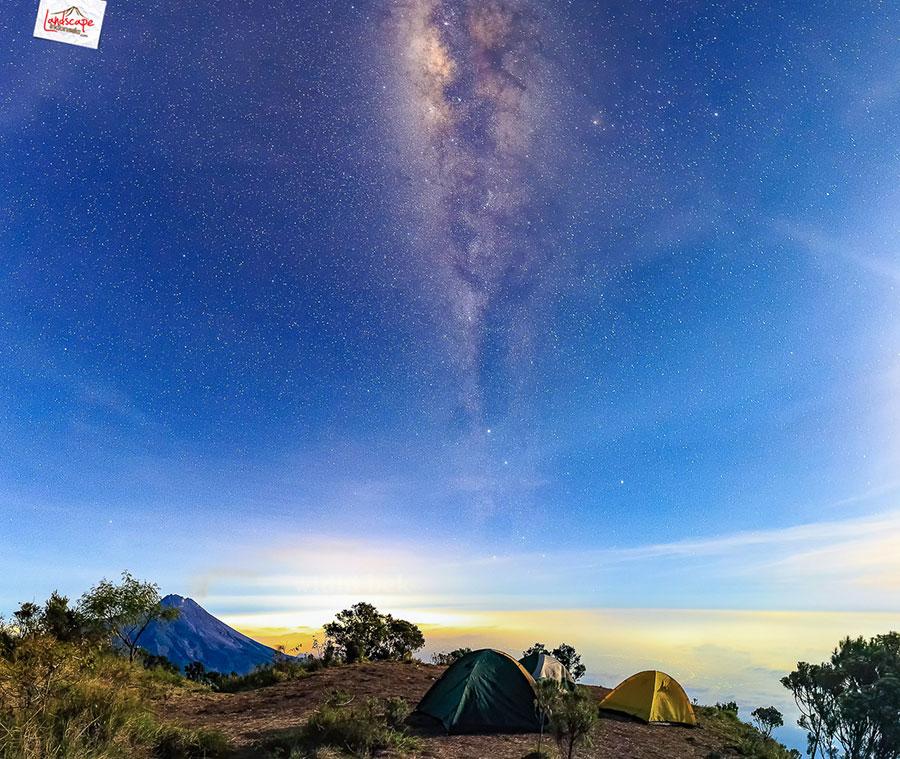 merbabu milkyway1 - Gunung Merbabu Virtual Tour