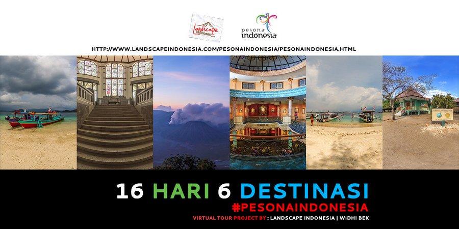 virtualtour pesonaindonesia2 - 16 Hari 6 Destinasi - Virtual Tour