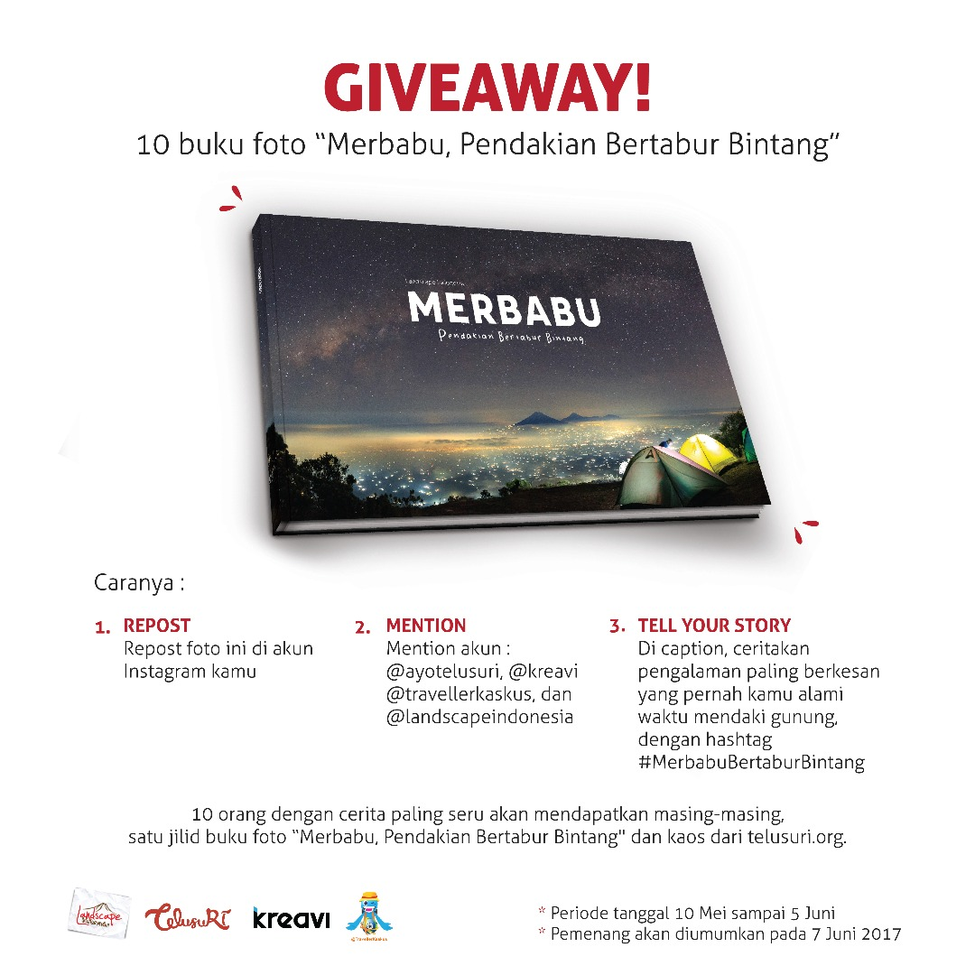 WhatsApp Image 2017 06 05 at 09.30.05 - Giveaway Buku Merbabu Telusuri